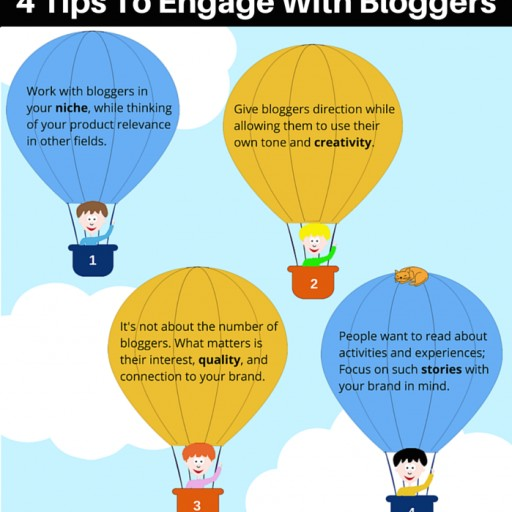 Influencer Marketing - 4 TIPS to ENGAGE WITH BLOGGERS